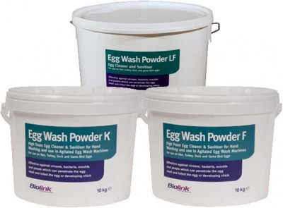 Egg wash powders